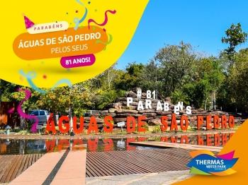 Águas de São Pedro, nossa cidade vizinha, comemora 81 anos