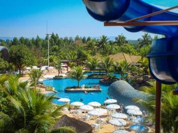 Conheça o novo Parque da Baleia com águas quentes