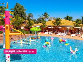 Conheça o parque aquático com águas quentes do interior de São Paulo