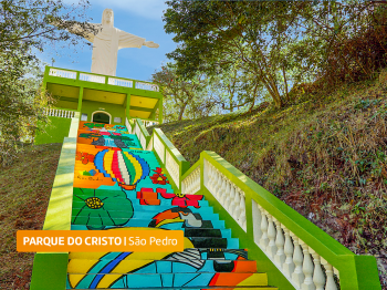 Parque do Cristo, em São Pedro, reabre para visitantes
